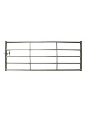 Cattle Yard Galvanised Metal Gate 12ft