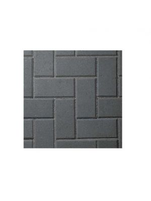 Charcoal Path Edging Block Paving