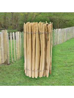 Cleft Chestnut Fencing Roll Paled Fencing
