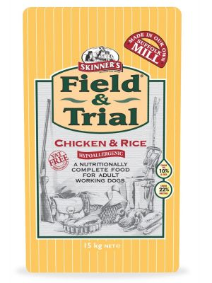 Skinners Field & Trial Chicken & Rice Dog Food - 15kg
