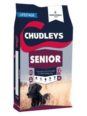 Chudleys Senior Dog Food - 15kg