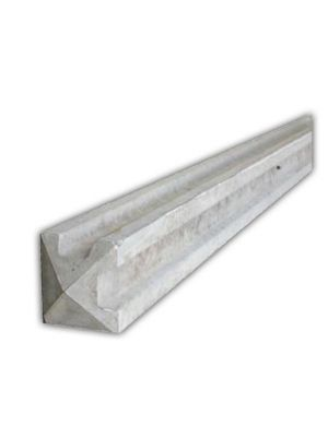 6ft Slotted Concrete Corner Fence Post
