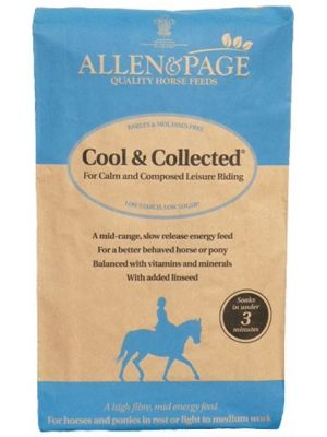 Allen & Page Cool & Collected Horse Feed - 20kg