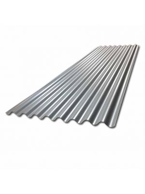 Galvanised corrugated steel roof sheet 6ft