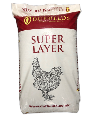 Duffield Super Layers 16 Pellets Chicken Feed - 20kg