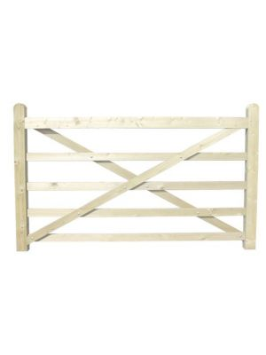 2.1mtr Timber Field Gate