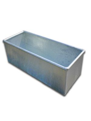 Cattle Livestock Water Trough Galvanised 1200mm