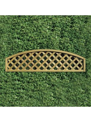 Convex Round Lattice Garden Panels 300mm