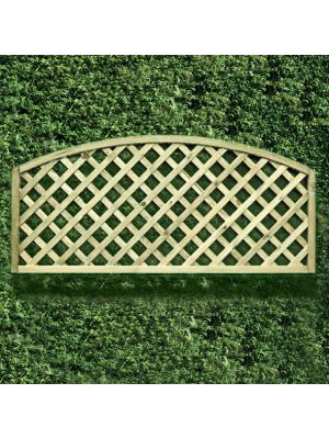 Convex Round Garden Lattice Panel HDL5