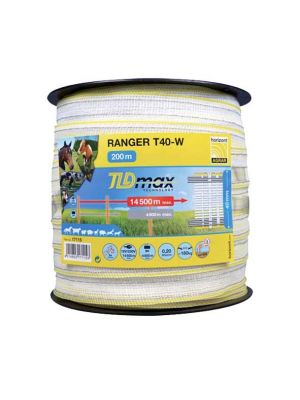 Horizont Electric Fencing Ranger Tape 40mm
