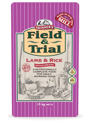 Skinners Field & Trial Lamb & Rice Dog Food - 15kg