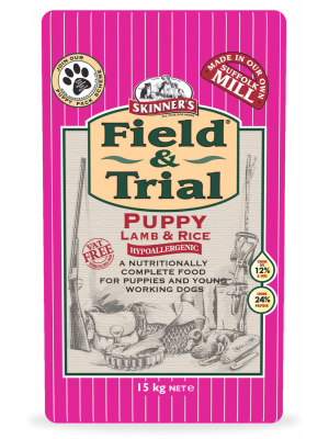 Skinners Field & Trial Puppy Lamb & Rice Dog Food - 15kg