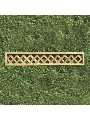 Heavy Duty Lattice Rectangular Panel 1800mm x 300mm HDL7