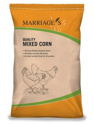 Marriages Mixed Corn - Chicken Feed - 20kg