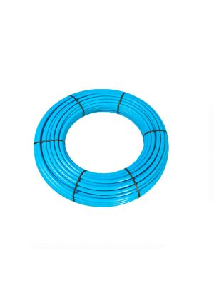 25 Metre Blue MDPE Water Pipe Polypipe Coil
