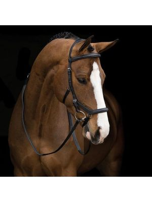 Rambo Micklem Competition Bridle, Black (Reins Sold Separately)