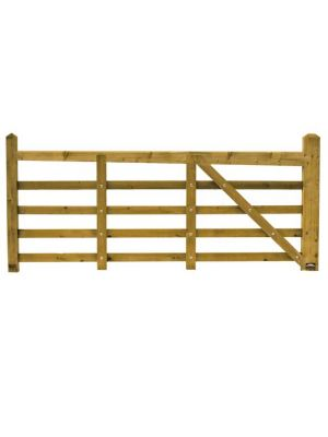 Norfolk Softwood Timber Gate 3.6 metre