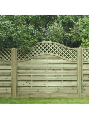 OLT150 Omega Fence PAnel Lattice Topp