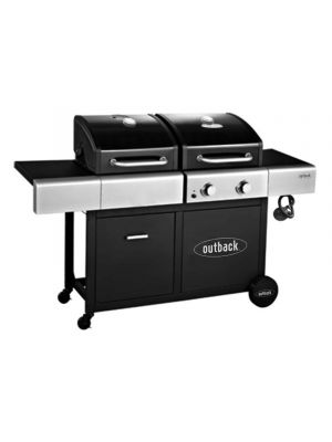 Outback Dual Fuel 2 Burner Barbecue