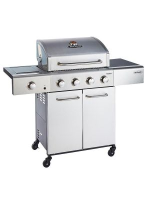 Outback Meteor Stainless Steel 4 Burner Barbecue