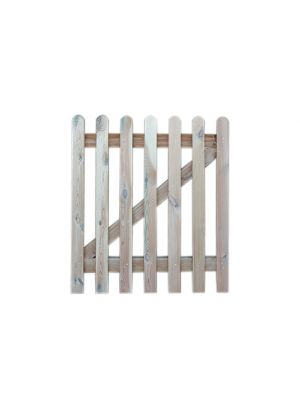 Picket Gate 1200mm Round Top