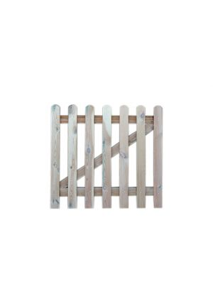 Picket Gate 900mm Round Top