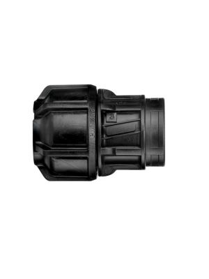 Philmac Female Compression End Connector Met/Imp POL x FI BSP