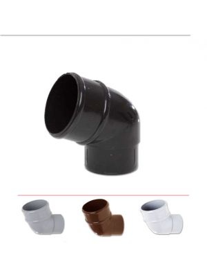 Polypipe 68mm Rainwater Downpipe Offset Bend 112.5 °