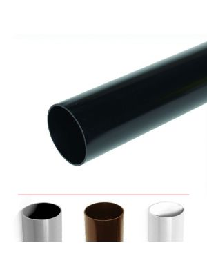 Polypipe 68mm Rainwater Downpipe 2.5 Metre