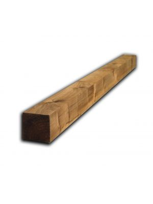Timber Fence Post 1.5M x 75MM X 75MM Brown Treated