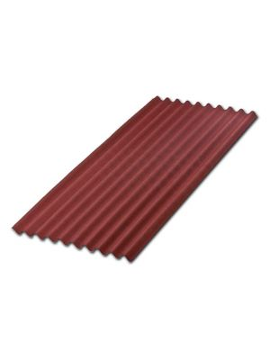 onduline red bitumen corrugated  roofing sheet