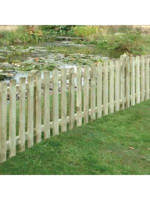 Picket Fence Panels | Paled Fencing