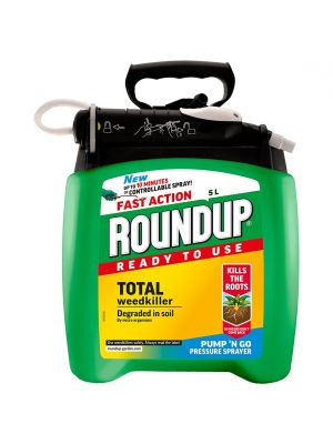 Roundup Fast Action Weedkiller Pump 'N Go Spray - 5L