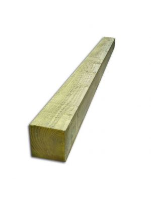 2.7m x 150mm x 150mm Timber Softwood P/T Post