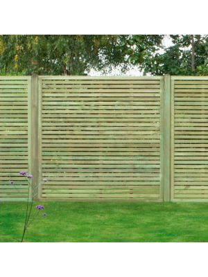 Slatted Fence Panel SLA180 1800mm x 1800mm