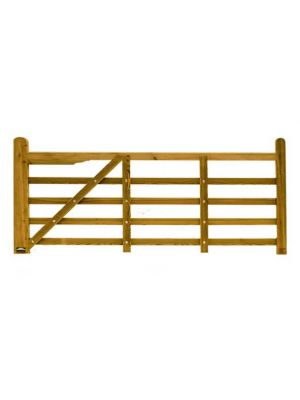 Suffolk Timber Planed Field Gate 3.6 mtr