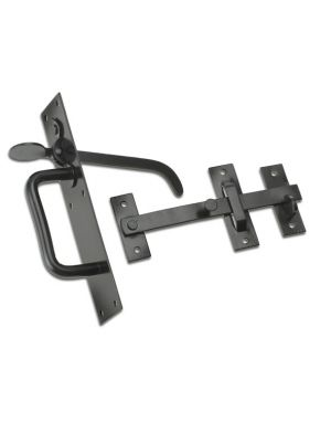 Suffolk Garden Gate Latch Black