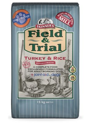 Skinners Field & Trial Turkey & Rice Dog Food - 15kg
