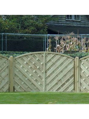 Va120 Continental Fence Panel