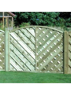 VA150 Arched Continental Fence Panel