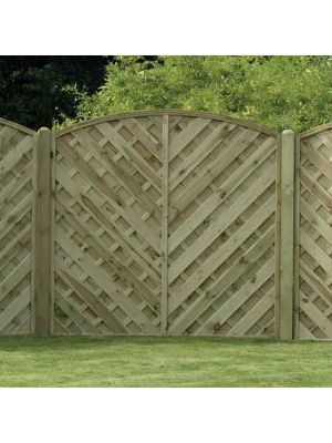 Va180 Continental Fence Panel