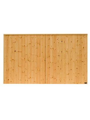 3 mtr x 1.8 mtr Timber VIking Boarded Security Gates