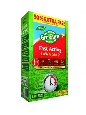Westland Gro-Sure Fast Acting Grass Seed - 15m2