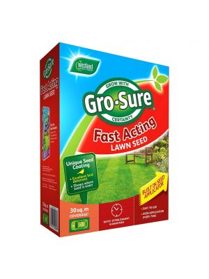 Westland Gro-Sure Fast Acting Grass Seed - 30m2